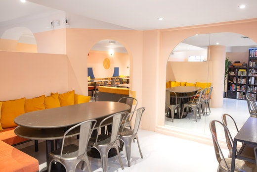Cafe Venue Hire London Canvas Events