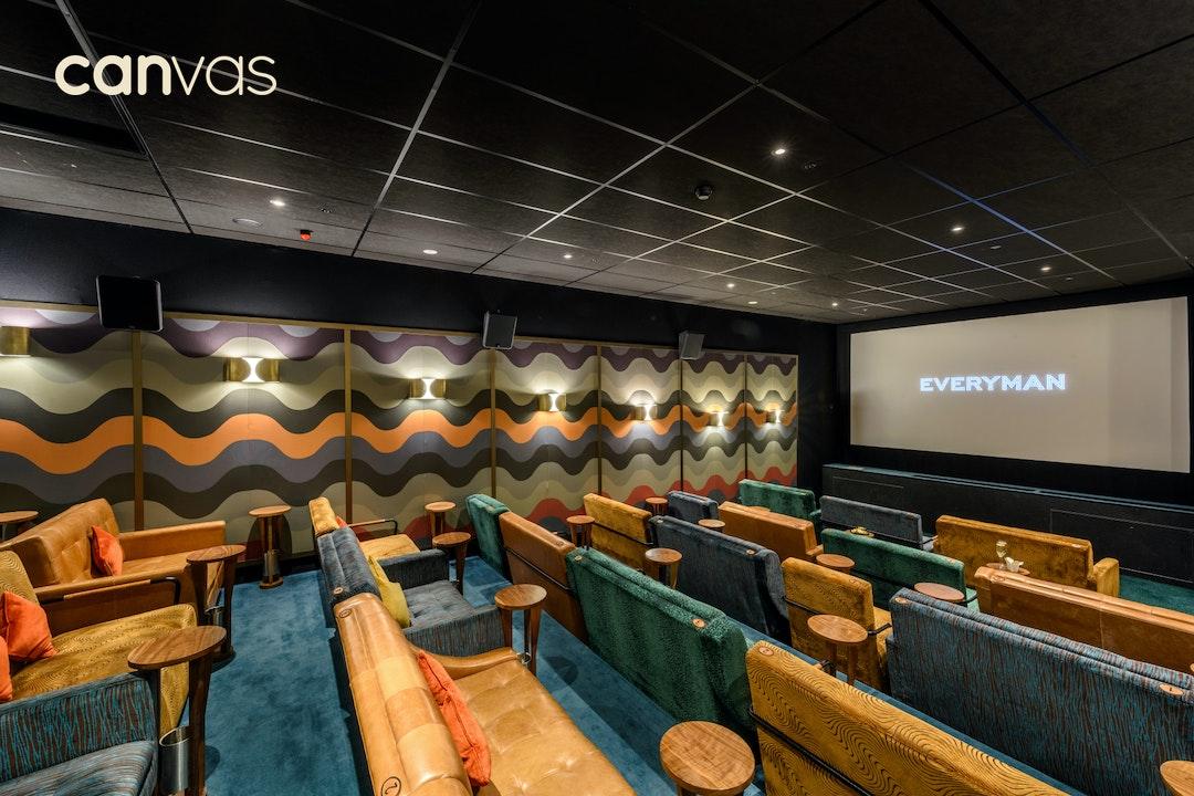 Everyman Cinema Canary Wharf London Venue Hire Canvas